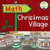 Math Activity Christmas Village