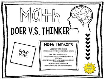 Math Activity- Doer v.s Thinker Activator