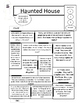 Halloween Math Activity Word Problems Haunted House with Regrouping