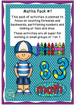 Math Activity Pack #1