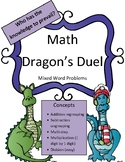 Math Activity Review Mixed Word Problems (regrouping/ungrouping, easy multi/div)