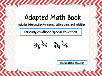 Math - Adapted Book/File Folders