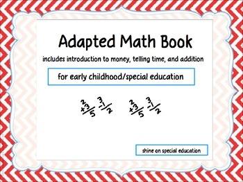 Math - Adapted Book/File Folders