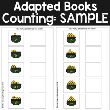 Counting Adapted Books: SAMPLE March St. Patrick's Day