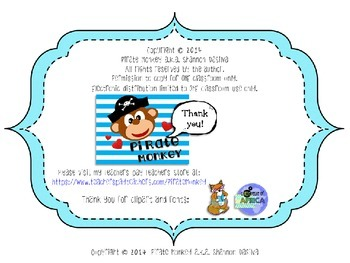 Math Adding Four Two Digit Numbers by Pirate Monkey