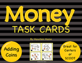 Math Adding Money Task Cards for Centers or Scoot
