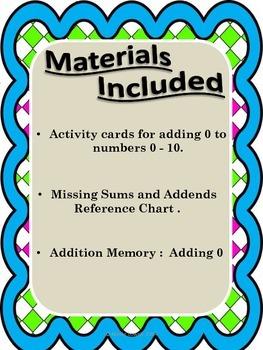 Math: Addition 0 - 5 Flashcards