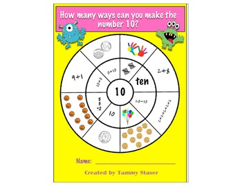 Math Addition Circles