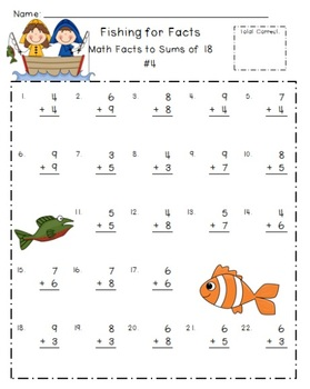 Math Addition Facts Bundle