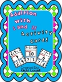Math Addition Flash Cards: Adding 1 & 2