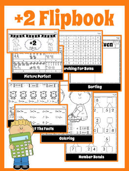 Math:  Addition Flipbook Bundle