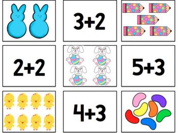 Math Addition Matching Card Game {FREE PRINTABLE}