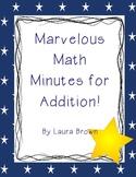 Math Addition Minutes