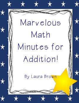 Math Addition Minutes