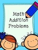 Math Addition Problems