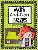 Math Addition Puzzles