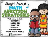 Math Addition Strategy Songs - Posters {Singing} Kindergarten & First Grade