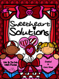 Math Addition & Subtraction Color By The Number Code ~ Sweetheart Solutions