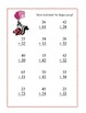Math-Addition & Subtraction With and Without Regrouping-Valentine's Day Theme