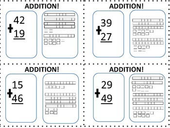 Addition Problems with and without Regrouping!