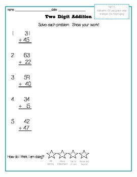 Leveled Addition and Subtraction Pack