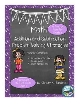 Math: Addition and Subtraction Problem Solving Strategies