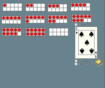 Math Addition (whole group) with Ten Frames