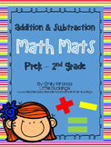 Math - Additon & Subtraction Mats (Generic, to be used for multiple activities)