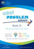 Math: Adept Problem Solvers Book 15