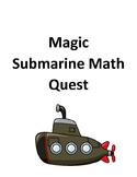 Submarine Math Adventure (Basic Operations, Rate, Ratio, A