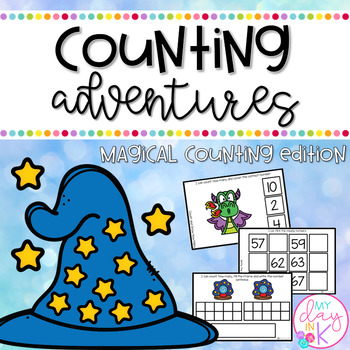Math Adventures Task Cards: Magical Counting Edition