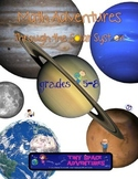 Math Adventures Through the Solar System (Common Core & NGSS)