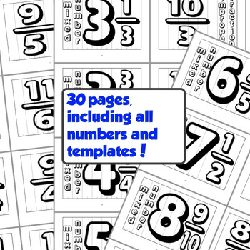 Math Agamographs - Convert Mixed Numbers to Improper Fractions