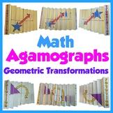 Math Agamographs - Geometric Transformations - Translation Reflection Rotation