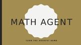 Math Agent Game