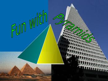 Math Algebra All About Pyramids Powerpoint