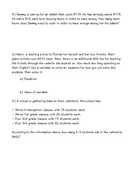 Math: All Fourth Grade Standards Broken Down