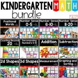Math Bundle For Kinders, Back to School