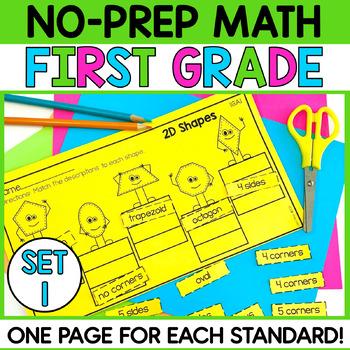 First Grade Math Printables