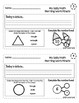 First Grade Math - Morning Work Minute Worksheets - December
