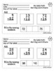 First Grade Math - Morning Work Minute Worksheets - January