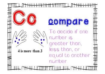 Math Alphabet