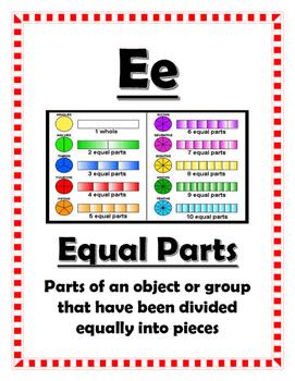 Math Alphabet - 3rd Grade STAAR Aligned