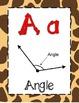 Math Alphabet 3rd Grade STAAR - Animal Print