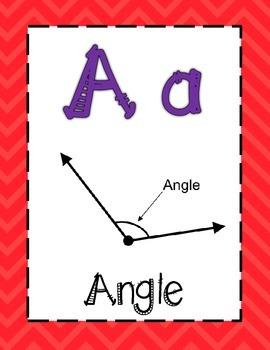 Math Alphabet 3rd Grade STAAR - Rainbow