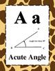 Math Alphabet 4th Grade STAAR Animal Print