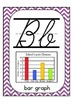 "Cursive Alphabet Posters Math ""Purple Chevron"""