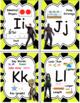 Math Alphabet Poster Guardians of the Galaxy