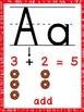 Math Alphabet (Print)