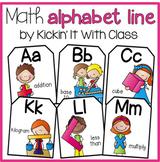 Math Alphabet {Scrappy Kid Edition}